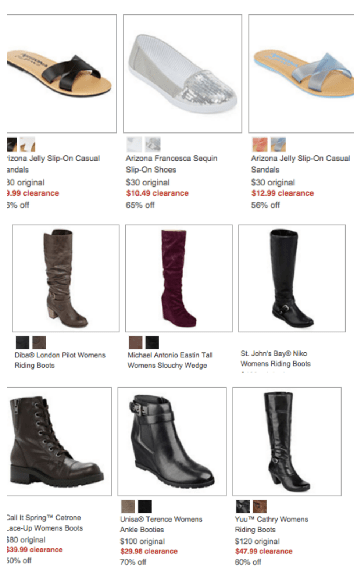 31530ab84 JCPenney ~ Huge Shoe Clearance Sale + Extra 20%, Super Cheap Shoes ...