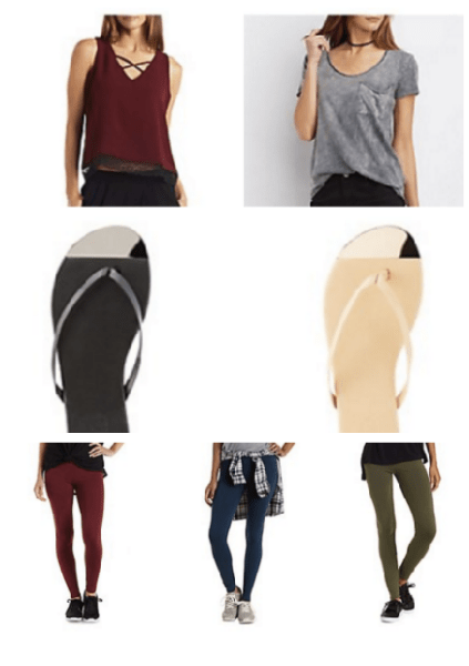 Charlotte Russe ~ $5 Tops, Sandals, Leggings + More & Free