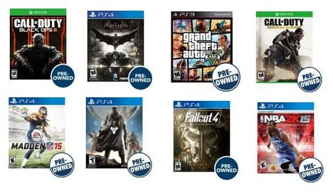 Best Buy~ Buy 2 Get 1 Free on ALL Pre-Owned Video Games - My