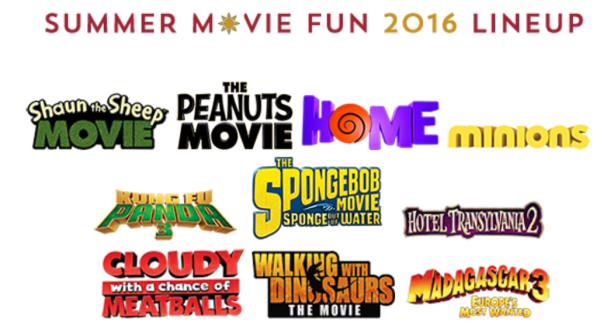Summer Movie Programs