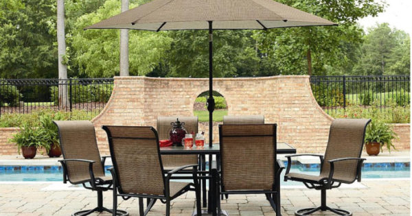 Sears 7 Piece Outdoor Patio Set Only 299 Regularly