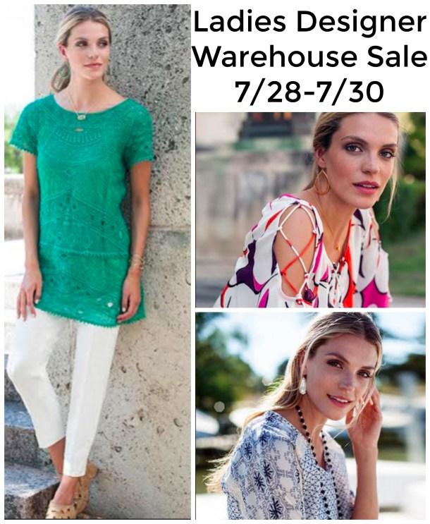 Ladies Designer Warehouse Sale