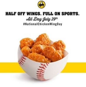 More specifically, Buffalo Wild Wings is now offering half-price traditional wings every Tuesday at more than 1, locations nationwide. To be fair, this shouldn't be entirely surprising.