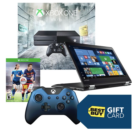 Best Buy ~ Xbox One Console + Lenovo Laptop + $50 Gift Card