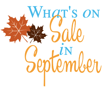 What's on sale in September