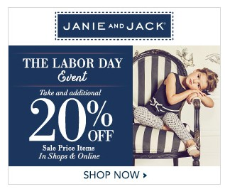 676247061792 Janie & Jack~ Free Shipping Today Only + Extra 20% Off - My DFW Mommy