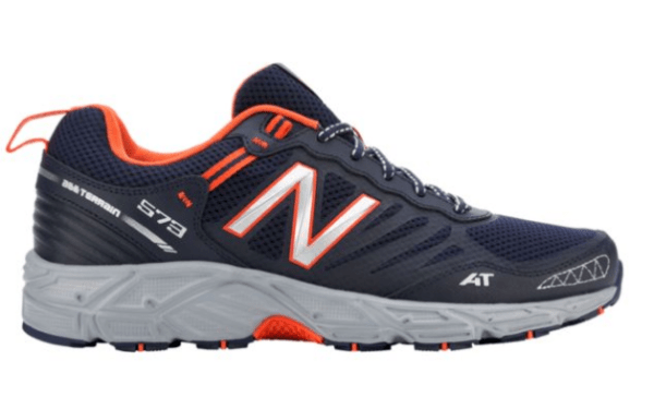 new images of for whole family super cheap Men's New Balance 573 Trail Running Shoes Just $33.99 ...