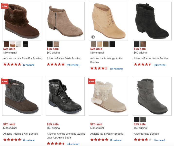 JCPenney Women's Boots Only $15 - My