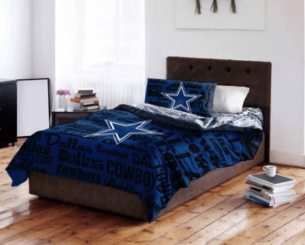 Epic Hurry to Walmart to grab this NFL Dallas Cowboys Bed in a Bag Complete Bedding Set for only shipped reg