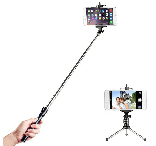 amazon taotronics bluetooth shutter selfie stick with tripod only my dallas mommy. Black Bedroom Furniture Sets. Home Design Ideas