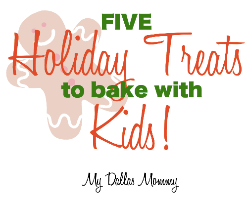 five easy holiday treats to bake with kids