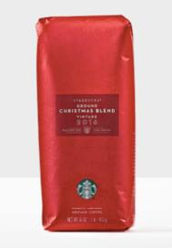 Starbucks christmas blend gift card