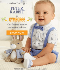 49ba12a4ed60f Gymboree~ New Peter Rabbit Collection + FREE Shipping on All Orders ...
