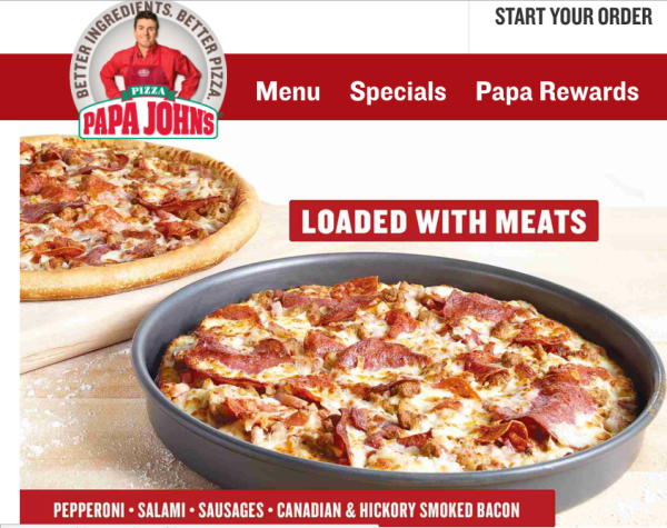 Papa John S 40 Off Regular Menu Price Pizza Large 5