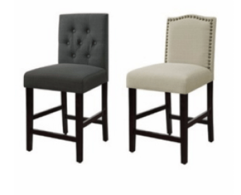 Remarkable 2 Kohls Stools 136 Shipped 20 Gc My Dfw Mommy Andrewgaddart Wooden Chair Designs For Living Room Andrewgaddartcom
