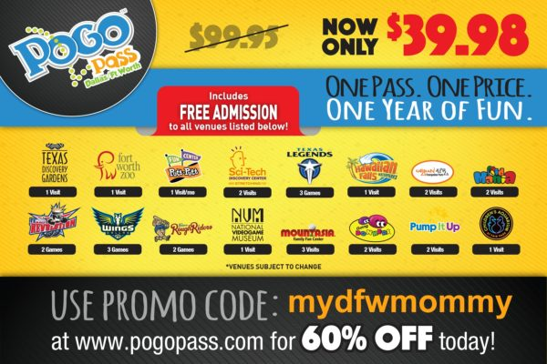 Pogo Pass Now Only 39  98 Additional Venues Great Deal