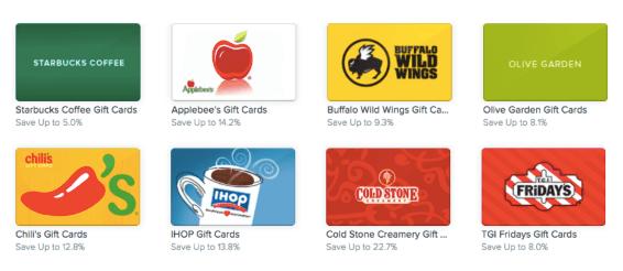 Bj's restaurant gift card deals