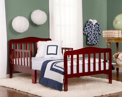 Unique Go over to Walmart click on the Espresso color option and you ull find this Dream On Me Toddler Bed in Espresso on sale for