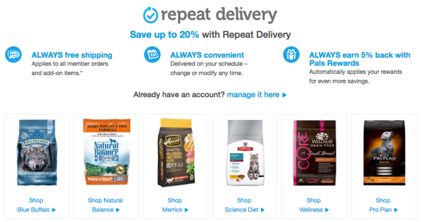 New Petco Repeat Delivery~ 20% Off + Free Shipping + EXTRA