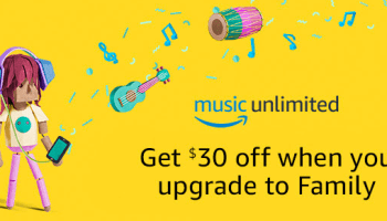 Amazon Music Unlimited Save 30 When You Upgrade To Family Plan