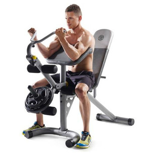 Gold S Gym Xrs 20 Olympic Workout Bench Only 97 Shipped