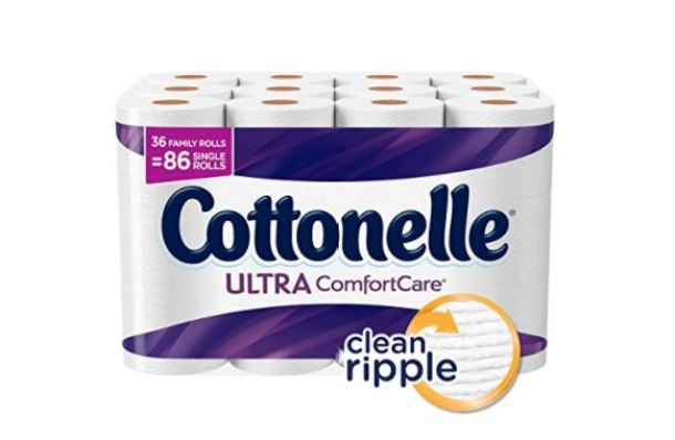 Cottonelle Ultra Comfortcare Toilet Paper Bath Tissue 36