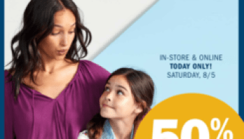 Save 50 Off Jeans For The Entire Family At Old Navy My Dallas Mommy