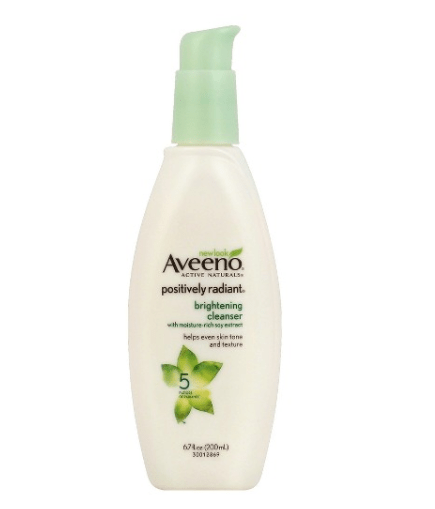 Aveeno facial cleansers something