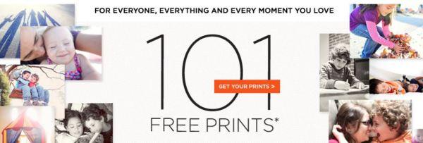 shutterfly 101 free 4x6 or 4x4 prints plus 1 free 16x20 print my