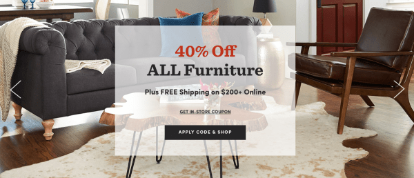 Through November 26th Head On Over To Cost Plus World Market Where You Can Score 40 Off Furniture Valid Both In Store And Online