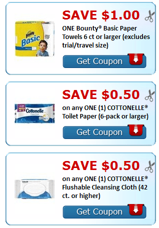 photo relating to Charmin Coupon Printable named Clean Printable Coupon codes~ Bounty, Kleenex, Charmin + Added - My