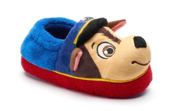 5ac5daa7f Paw Patrol Chase & Marshall Toddler Boys' Slippers $5.24 (Retail $14.99)