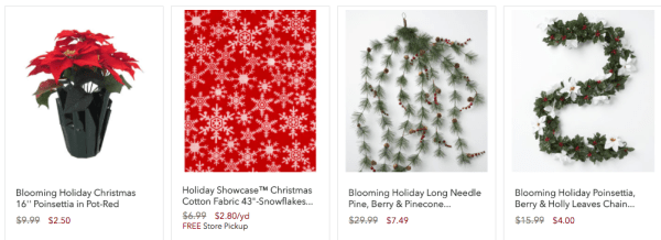 Christmas Clearance 75 Off.Joann Fabric Up To 75 Off Holiday Clearance My Dfw Mommy