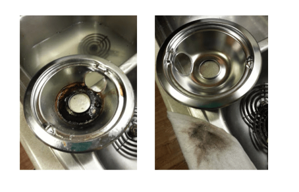 how to clean gas stove burners with vinegar