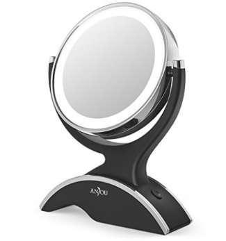 Anjou Led Lighted Double Sided Makeup Mirror Only 16 99