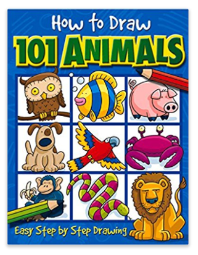 How to draw 101 animals step by step drawing book just 321 my go over to amazon or walmart where you can score this highly rated how to draw 101 animals book for just 321 solutioingenieria Choice Image