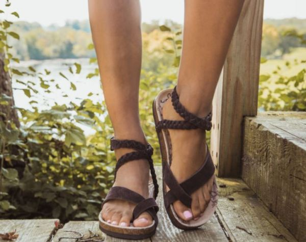 929500b7667 Hurry over to get these MUK LUKS Women s Estelle Sandals on sale for  19.99  (Retail  44).