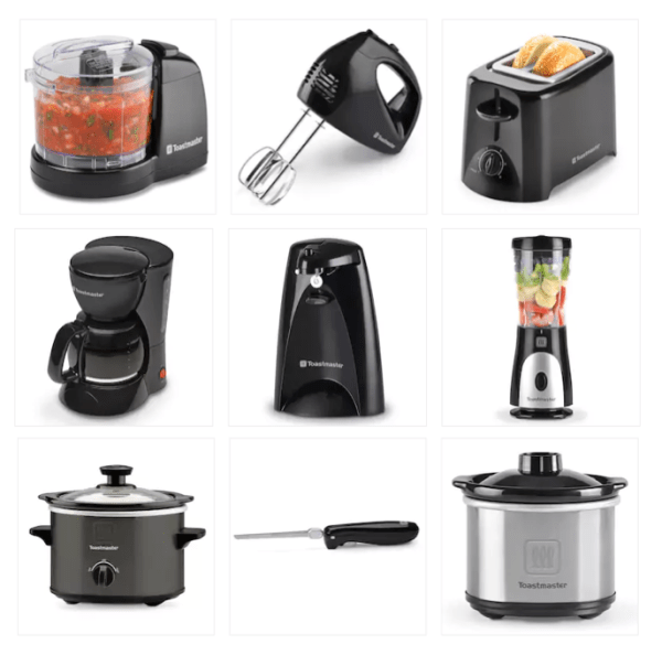 Toastmaster Small Kitchen Appliances Only $2.14 Each After Kohl's ...