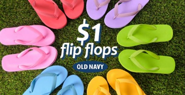 f52cf45de Check out the Dates for the Old Navy  1 Flip Flop Sale - My DFW Mommy