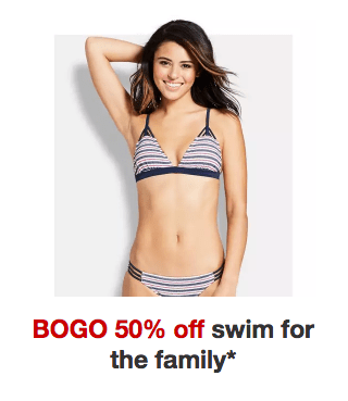 a0f5d35de3555 BOGO 50% Off Swimwear for the Family at Target - My DFW Mommy