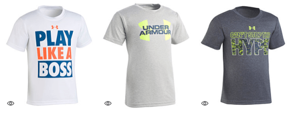 c8d1becc5 Macy's~ Up to 65% Off Under Armour, Nike & Adidas Boys T-Shirts Today Only