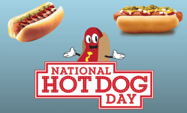 Did You Know Its Nationalhotdogday Offers And Participation Can Vary By Location And Unless Otherwise Noted These Deals Are Only Available July 18
