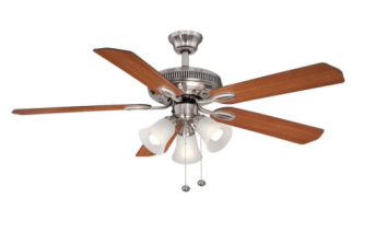 Hampton bay brushed nickel ceiling fan only 2654 reg 53 my go over to home depot where you can get this hampton bay glendale ii 52 inch brushed nickel ceiling fan for 2654 regularly 5308 mozeypictures Image collections