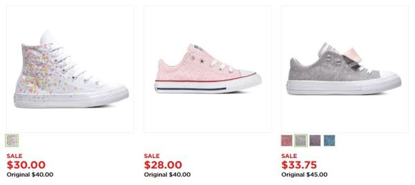 00ad95e5004 Kohl s is offering up to 25% off Converse gear for the entire family! I  love these Girls  Converse Chuck Taylor All Star Madison Pastel Sneakers on  sale for ...