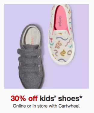 15c10db25ecaee Target~ Last Day to Save 30% Off Kids    Toddler Shoes This Week ...