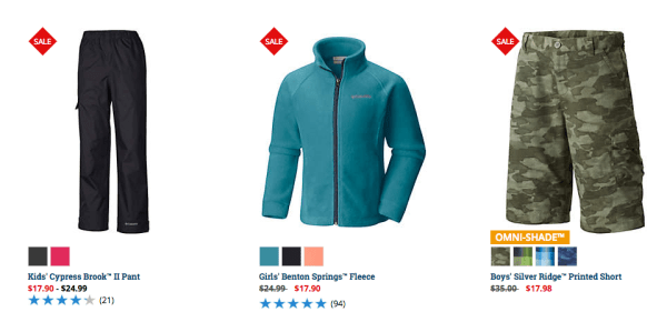 ecb7c0210 Hop on over to Columbia where you can score big discounts on Columbia gear!  Plus, you can save an additional 20% off sale prices with promo code ...