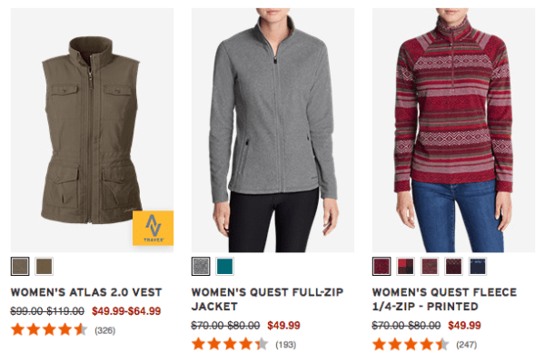 ce25164b4f432 Extra 50% Off Clearance at Eddie Bauer - My DFW Mommy