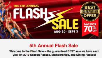 Six Flags Over Texas Flash Sale~ Save 75% Off Season Passes & More