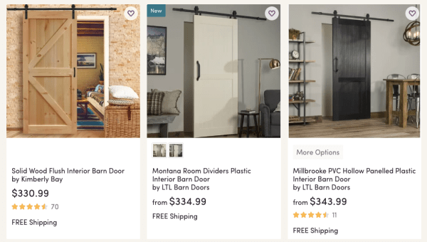 Up To 55 Off Interior Farmhouse Style Barn Doors My Dallas Mommy