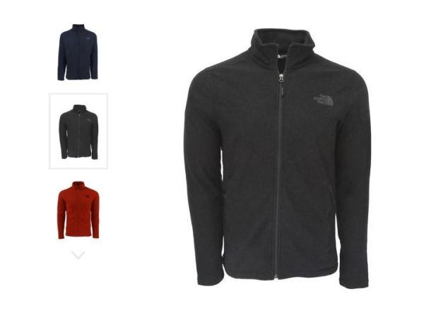 fa957dae3 The North Face Men's Texture Cap Rock Full Zip Jacket $34.99 Shipped ...